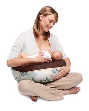 Poppy Two-Sided Nursing Pillow