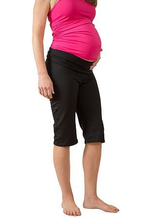 DLVR™ Maternity Fitness Capri with ActivEmbrace™ Support Technology by DLVR Maternity, LLC