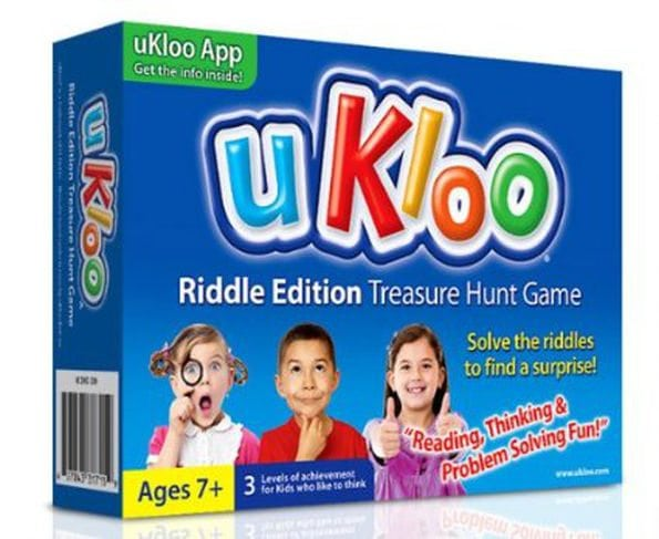 uKloo Riddle Edition Treasure Hunt Game by uKloo Kids, Inc.