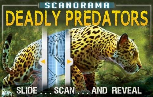 Scanorama Deadly Predators by Silver Dolphin Books