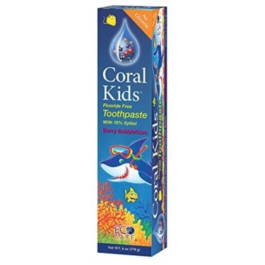 Coral Kids Fluoride Free Toothpaste