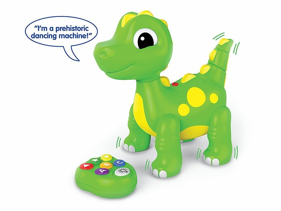 ABC Dancing Dino by The Learning Journey International