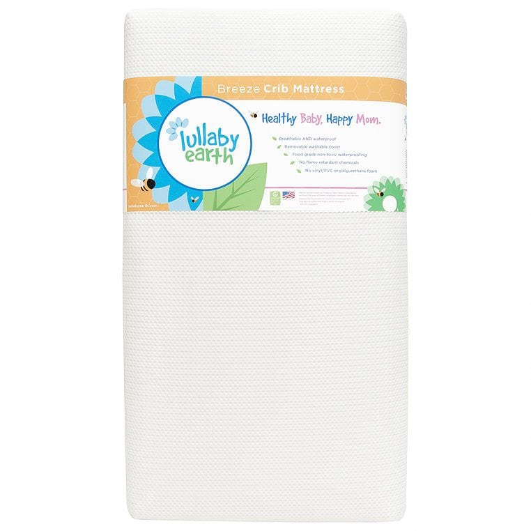 Breeze Crib Mattress by Lullaby Earth