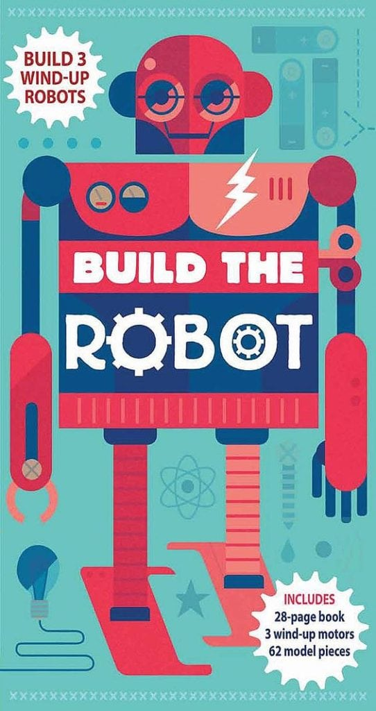 Build the Robot by Silver Dolphin Books
