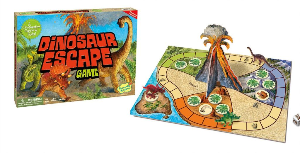 Dinosaur Escape by Peaceable Kingdom