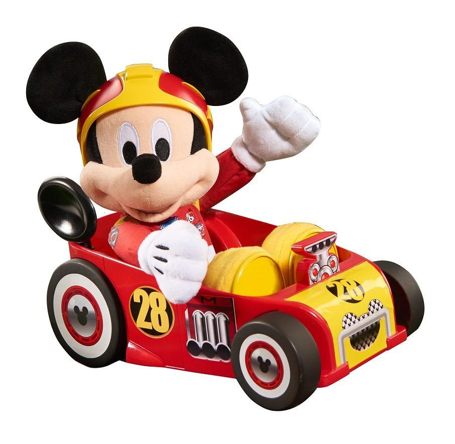 Disney Junior Mickey and the Roadster Racers Racing Adventures Mickey Plush