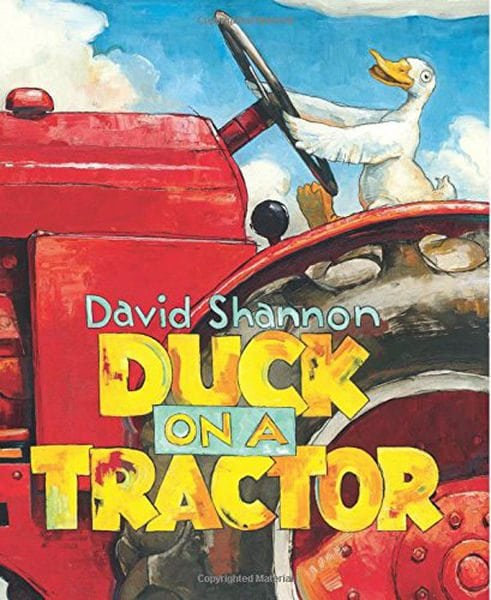 Duck on a Tractor by Scholastic / The Blue Sky Press