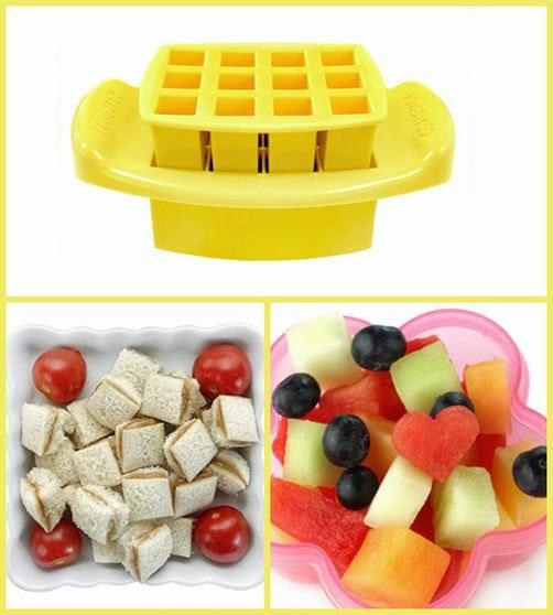 FunBites Yellow Squares