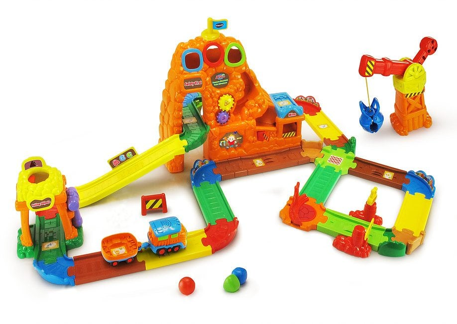 Go! Go! Smart Wheels Treasure Mountain Train Adventure by VTech
