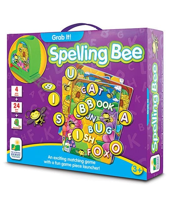 Grab It! Spelling Bee by The Learning Journey International