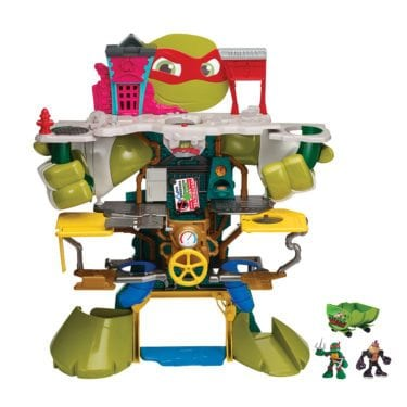 Half Shell Heroes Headquarters Playset by Playmates Toys