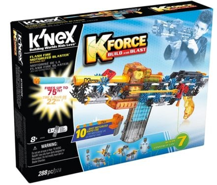 K-FORCE Flash Fire Motorized Blaster by K'NEX Brands