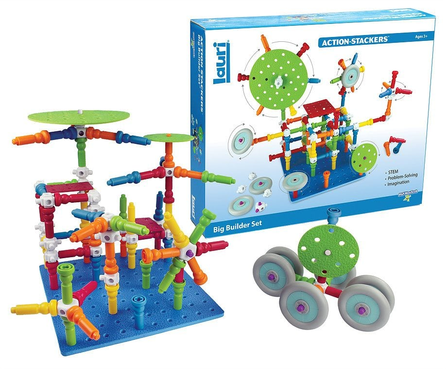 Lauri Action Stackers - Big Builder Set by PlayMonster