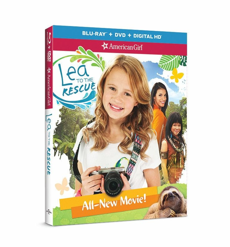 Lea to the Rescue Two-Disc Blu-ray/DVD Combo Pack by American Girl