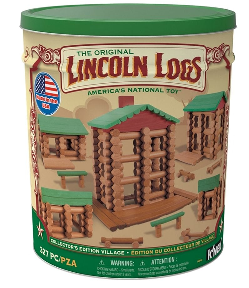 Lincoln Logs Collector's Edition Villiage by K'NEX Brands