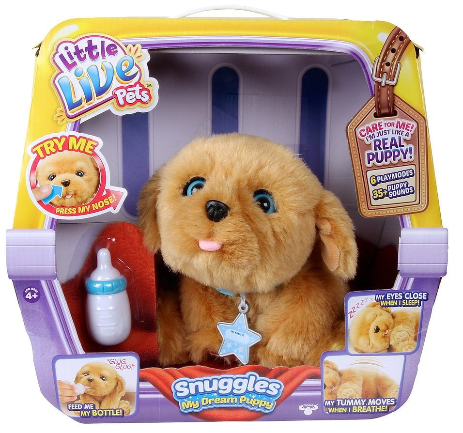 Little Live Pets Snuggles, My Dream Puppy by Moose Toys