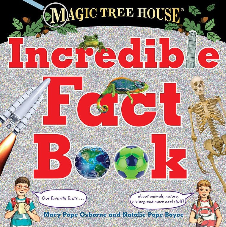 Magic Tree House- The Incredible Fact Book