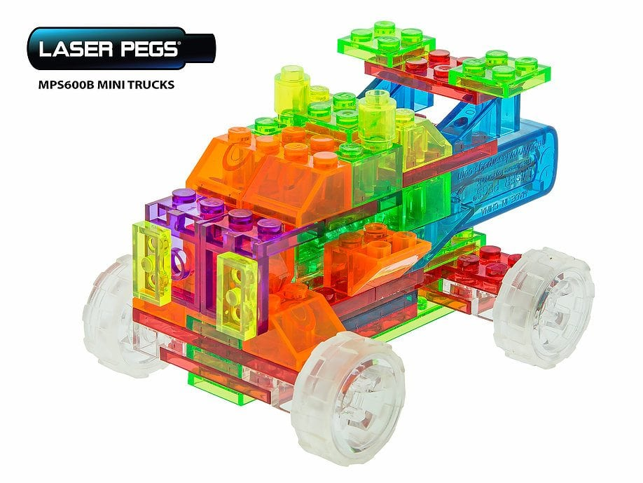 Mini Super Truck by Laser Pegs