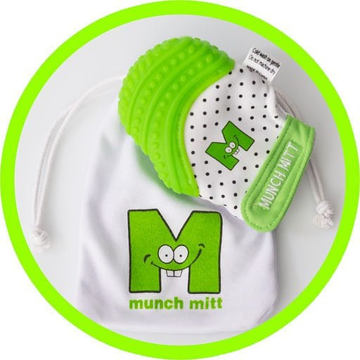 Munch Mitt - Baby Teether by Munch Baby Inc.