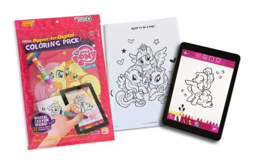 My Little Pony Paper-to-Digital Coloring Book Pack by FlyCatcher Inc.