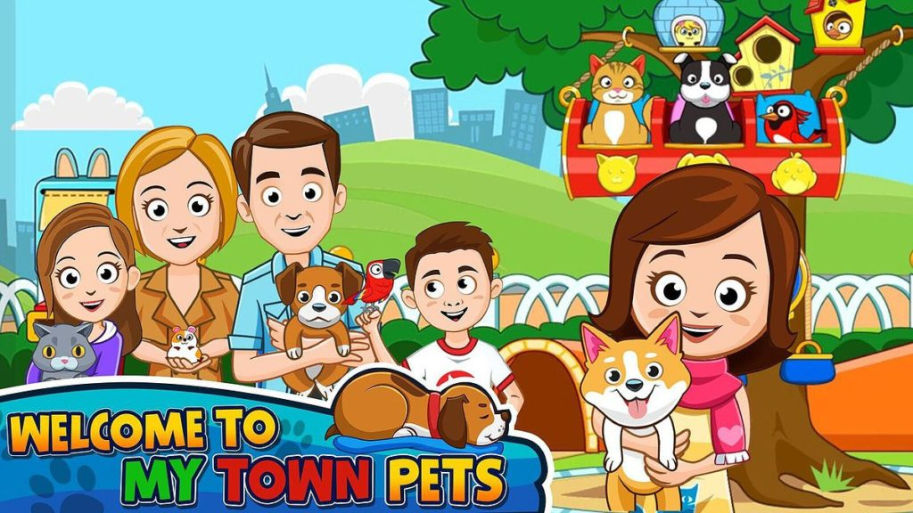 My Town: Pets Application