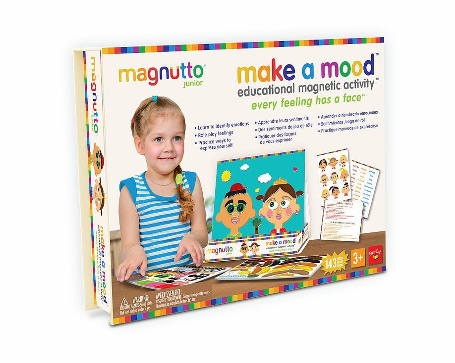 Neat-Oh! Magnutto Make a Mood Educational Magnet Activity Set by Neat-Oh! International, LLC