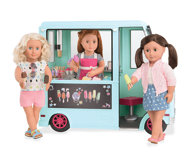Our Generation Sweet Stop Ice Cream Truck by Battat