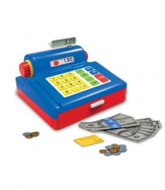 Play & Learn Cash Register by The Learning Journey International