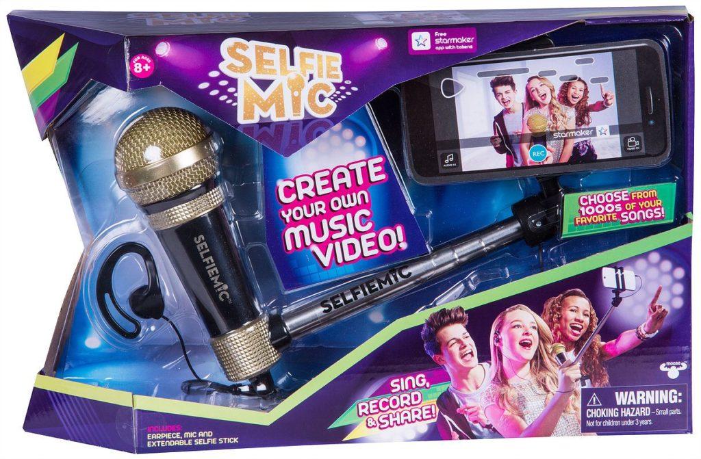 IMC TOYS Selfie Mic Microphone with selfie rod