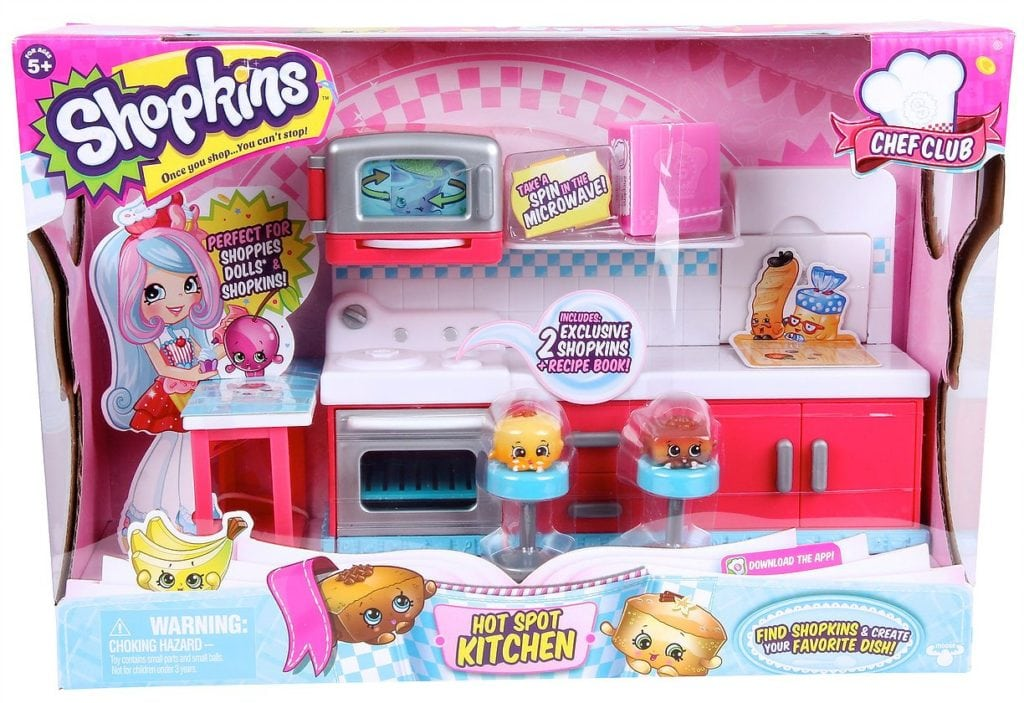 Shopkins Chef Club Hot Spot Kitchen by Moose Toys