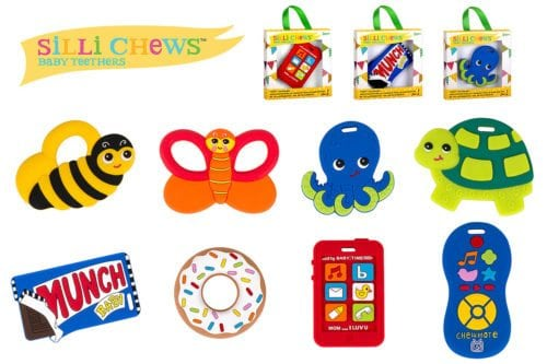 Silli Chews Baby Teethers by Fun Zone Inc.