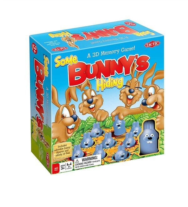 Some Bunny's Hiding from Tactic Games