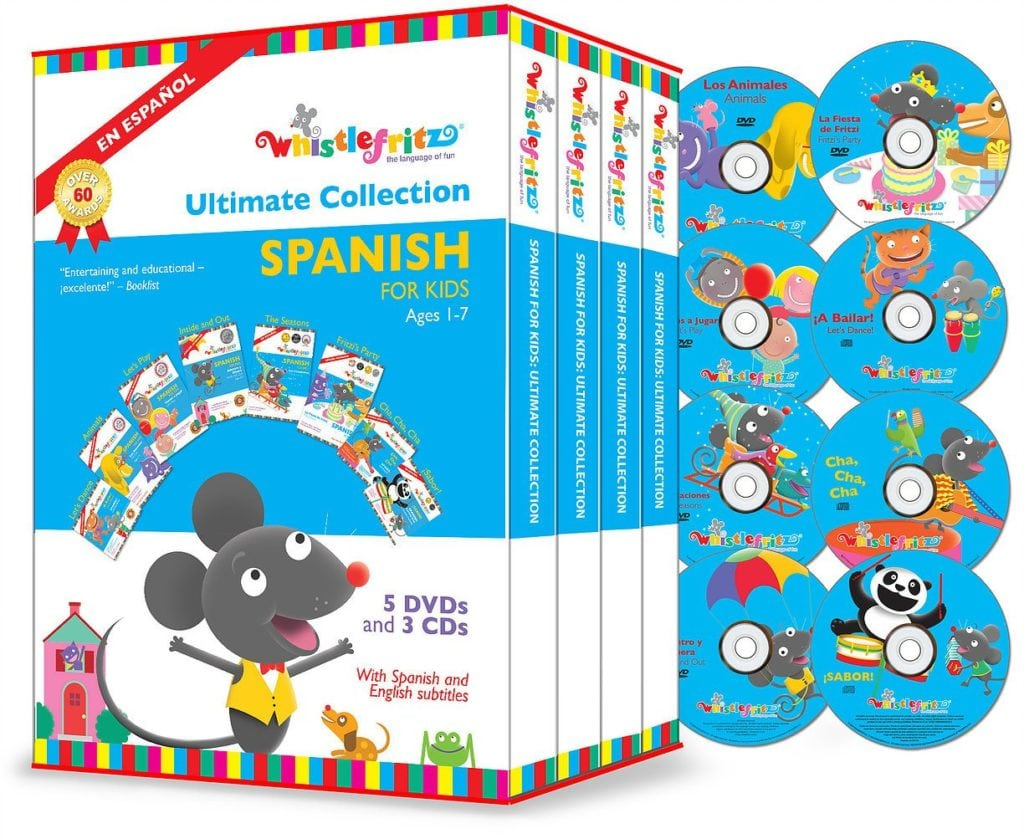 Spanish for Kids- The Ultimate Collection by Whistlefritz