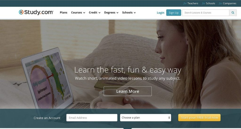 Study.com Video Lessons for K-12 and College by Study.com