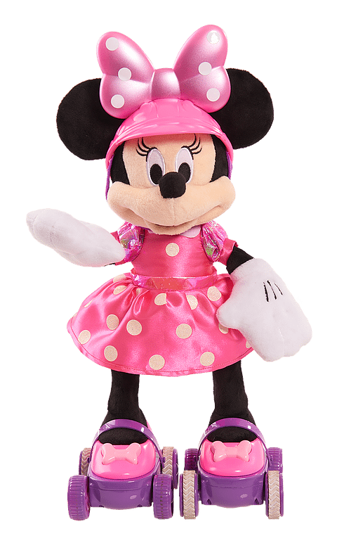 Super Roller-Skating Minnie Plush by Just Play