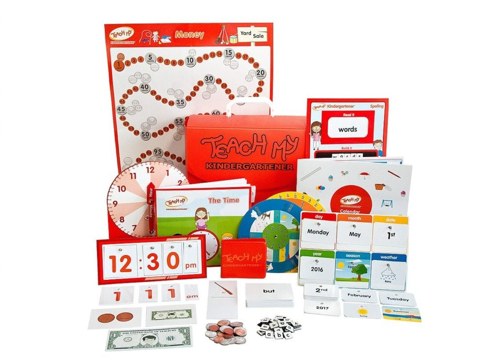 Teach My Kindergartener Learning Kit Deluxe
