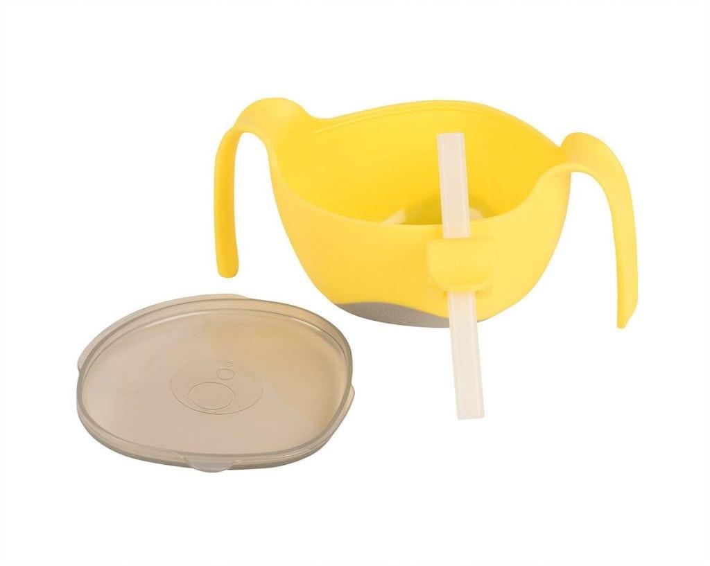 b.box bowl and straw