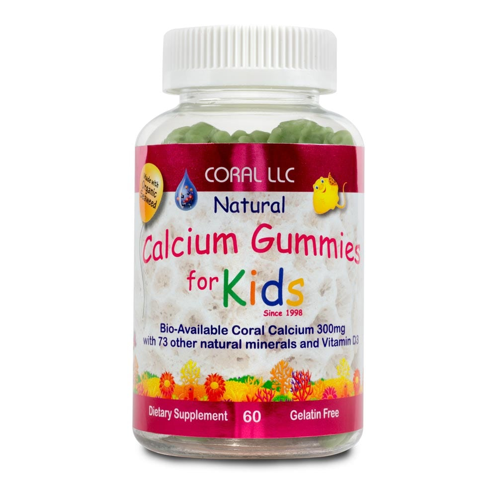 Coral's Natural Calcium Gummies for Kids