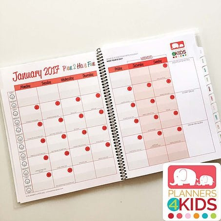 Planners4Kids: Educational Organization Tool for Middle Grade and Tweens