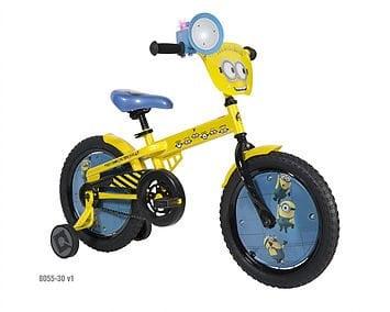 Minions Bike with Fartblaster by Dynacraft