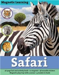 Magnetic Learning: Safari by Silver Dolphin Books