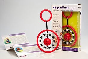 NogginRings Reaching & Grasping Rings by SmartNoggin