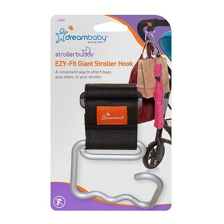 Dreambaby Strollerbuddy EZY-Fit Giant Stroller Hook