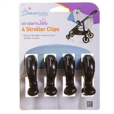 Dreambaby® Strollerbuddy® Stroller Clips