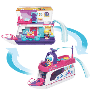 Flipsies Sandy's House & Ocean Cruiser by VTech