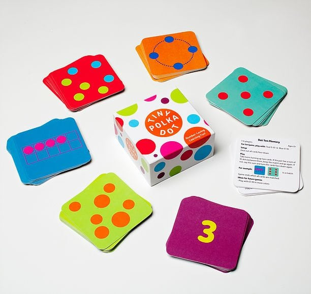 Math For Love's Tiny Polka Dot Educational Card Game
