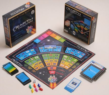 Earth Encounters Board Game