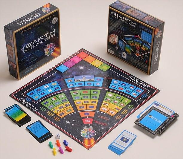Earth Encounters Board Game