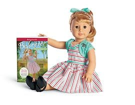 Maryellen doll and paperback book by American girl