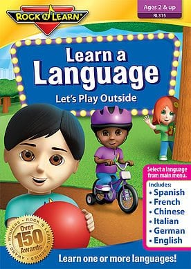 Learn a Language - Let's Play Outside by Rock 'N Learn